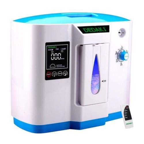 concentrador de oxígeno voglifestyle, 1-6l / min máquina po