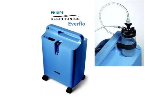 concentrador de oxigeno y tubo portatil. alquiler mensual