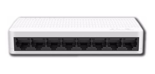 concentrador de red 8 puertos 10/100 s108