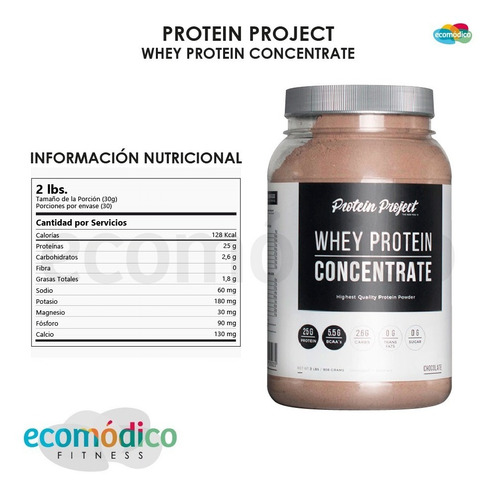 concentrate protein project 2lb + carb blocker +vaso