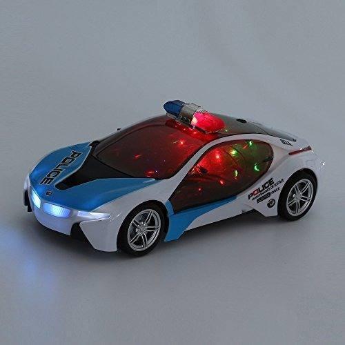 concepto de rc coche de policía 1:16 escala función completa