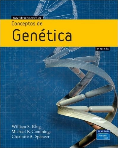 conceptos de genetica autor klug .- envió gratis
