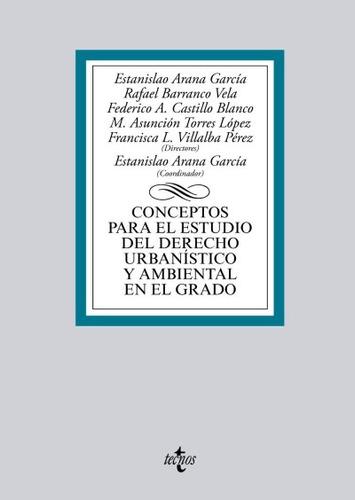 conceptos para el estudio del derecho urbanístico y ambienta