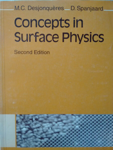 concepts in surface physics - second edition