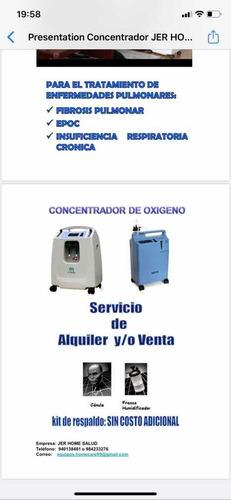 concertador oxígeno marca dynmed 10 litros. precio s/4,390
