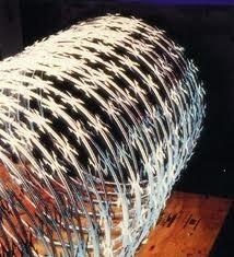 concertina  acerogalvanizada cuchilla larga no oxida nochina