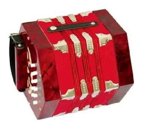 concertina celta parquer color rojo sj20409