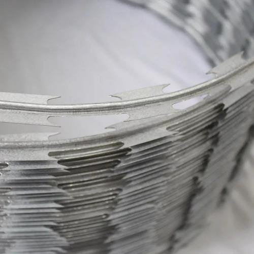 concertina cerca ouriço simples galvanizado 30cm + 15 metros