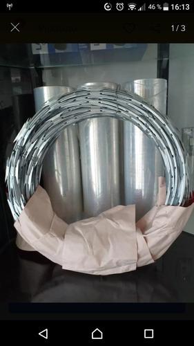 concertina galvanizada
