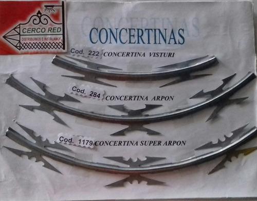 concertina galvanizada, cinta plástica de calidad para malla