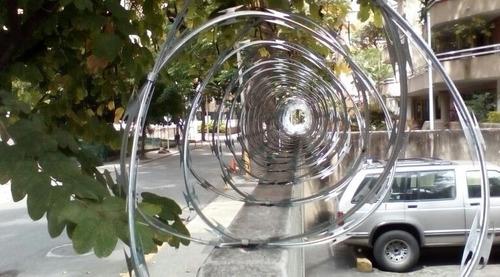 concertina galvanizada de 0.45 x 6mtrs
