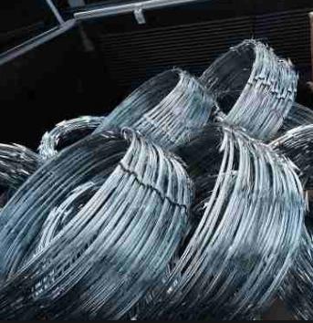 concertinas de 5m de largo y 0.50m de diametro galvanizadas