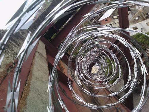 concertinas de acero galvanizado de 45 cm de diametro 6 mts