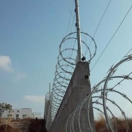concertinas de acero galvanizado de 6 metros x 45 de diametr