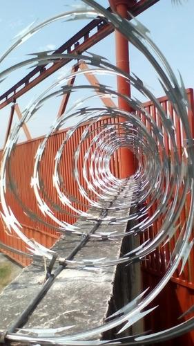 concertinas de seguridad 6 mts
