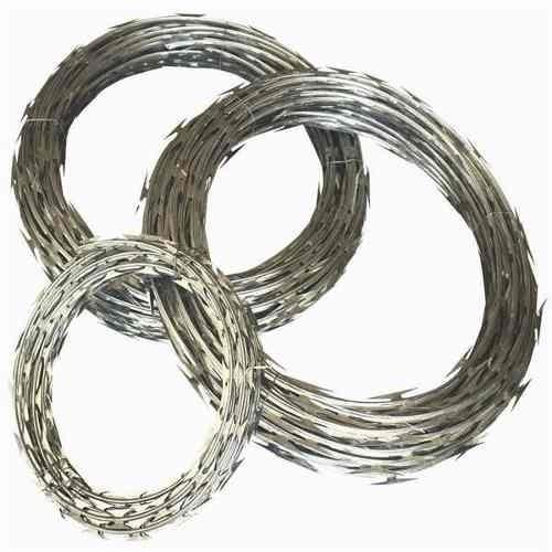 concertinas galvanizadas de 6 metros por 45 cm de diametro