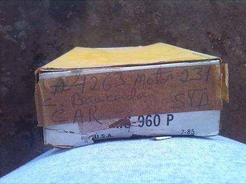 concha de bancada chevrolet 231-252 estandar clevite