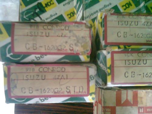 concha de biela isuzu caribe 4za1