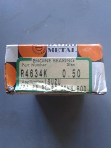 concha de biela  motor 4bd1 -4bd2-6bd1-6bg1