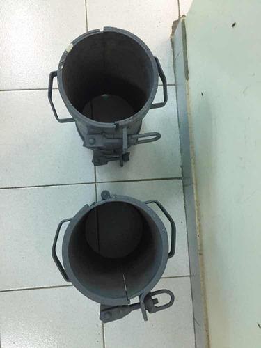 concha o cilindros p/ toma de muestras p/prueba de concreto