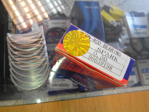 conchas de biela 0.50  (0.20) chevrolet spark  acdc