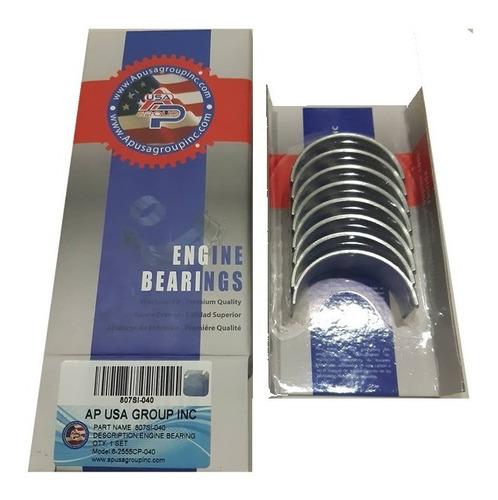 conchas de bielas chevrolet 305 medida 0.20