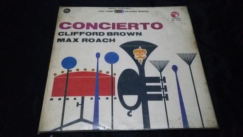 concierto clifford brown max roach lp vinilo jazz