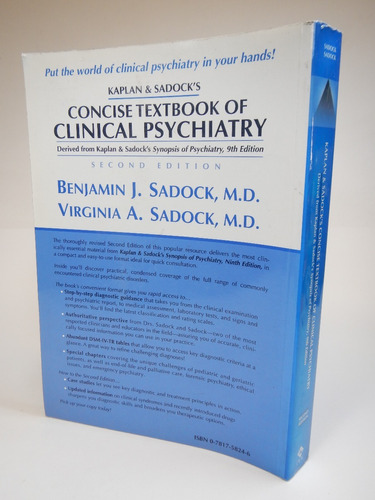 concise textbook of clinical psychiatry d8