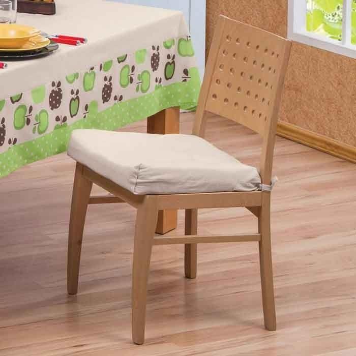 Concord jgo de 4 cojines para silla de comedor manzanas en mercado libre - Cojines sillas comedor ...