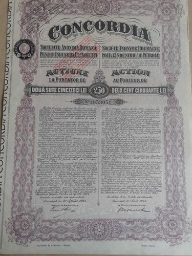 concordia societate anonima romana - 1924.
