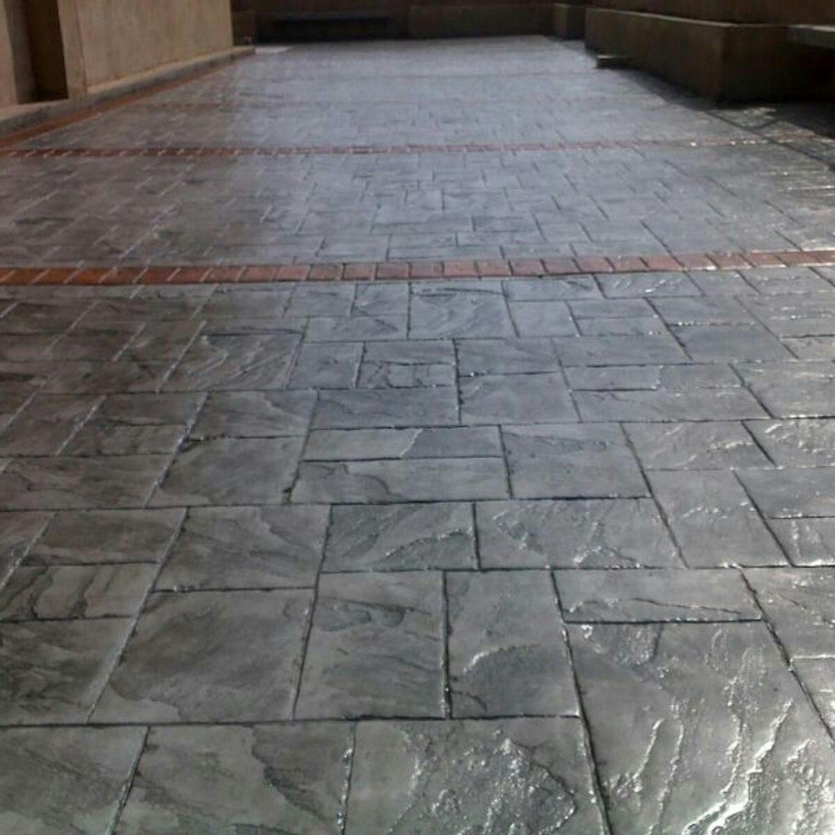 Concreto estampado del zulia c a en mercado libre - Como hacer brillar el piso de cemento ...