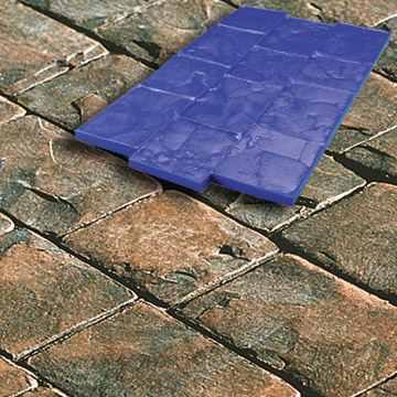Concreto estampado venta de moldes y materiales asesor a - Moldes de cemento ...