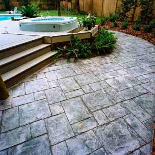 Concreto estampado venta de moldes y materiales asesor a for Precio del mercado de concreto encerado