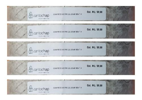 concreto metropolitan tapacanto egger / masisa 22 mm x 50 m