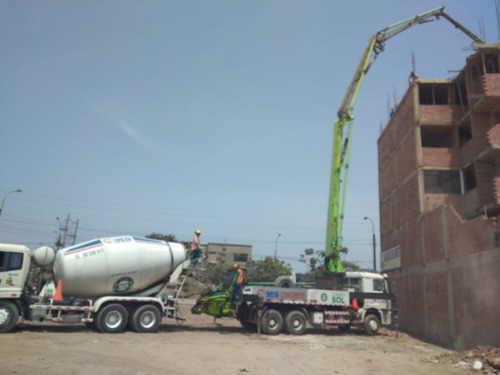 concreto premezclado