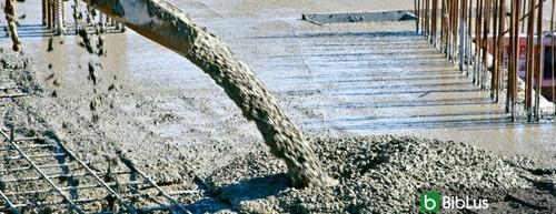 concreto premezclado en mixer puesto en obra