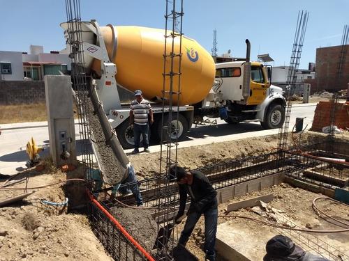 concreto premezclado y renta de bombas
