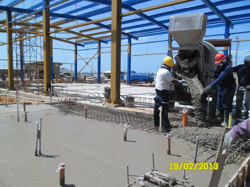 concreto preparado en sitio según diseño 180-210 kg/cm2