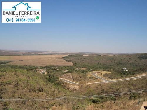 cond. reserva santa monica -  lote com fundo e vista livre para reserva - te00061 - 4433812