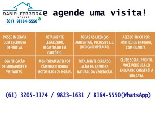 cond. reserva santa monica -  ótimo lote com 725m² - te00035 - 4431433