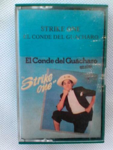 conde del guácharo. 3 cassettes originales y autenticos