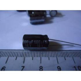 Condensador 1000uf 16v  2 Piezas Por 1 Vrd