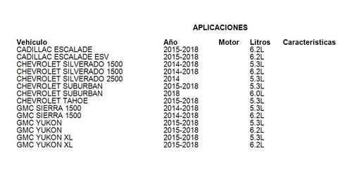 condensador a/c chevrolet silverado 1500 2015 5.3l