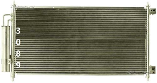 condensador aire acondicionado acura tl 2004 - 2008 nuevo!!!