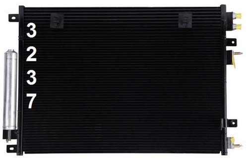 condensador aire acondicionado dodge challenger 2008 - 2009
