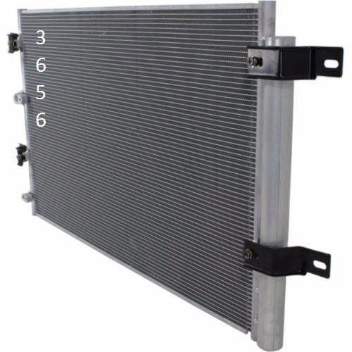 condensador aire acondicionado ford edge 3.5l v6 2007 - 2010