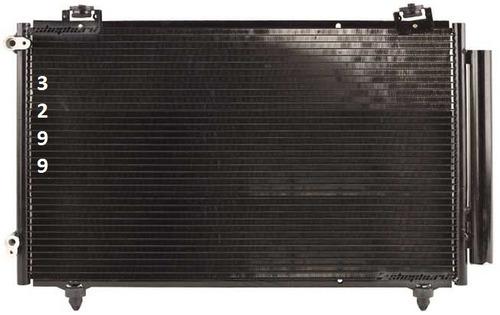 condensador aire acondicionado matrix 2005 -  2008 nuevo!!!