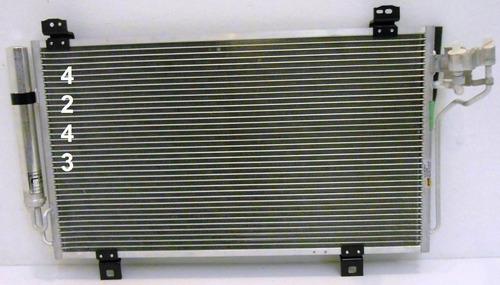 condensador aire acondicionado mazda6 / mazda 6 2014 - 2015
