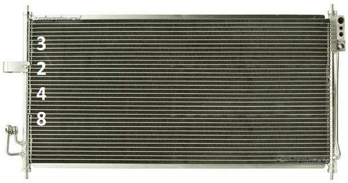 condensador aire acondicionado murano 2003 - 2007 nuevo!!!