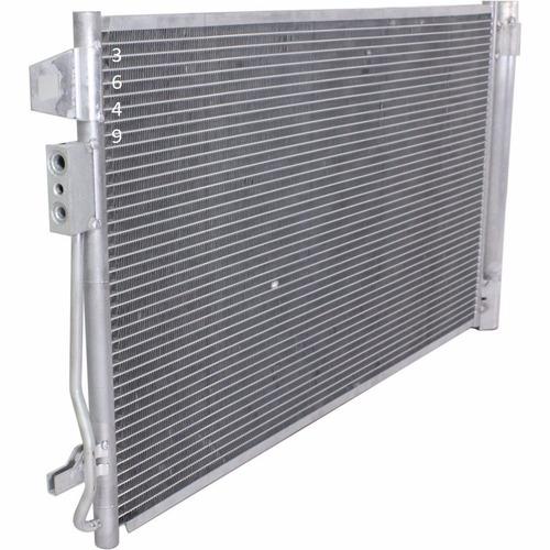 condensador aire acondicionado traverse 2009 - 2017 nuevo!!!